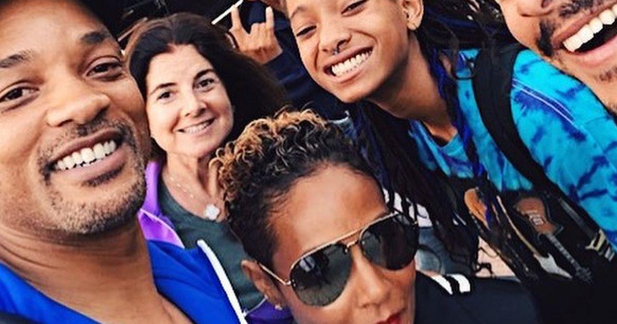 Will Smith e famiglia: eccoli tutti in Italia a fare immersioni