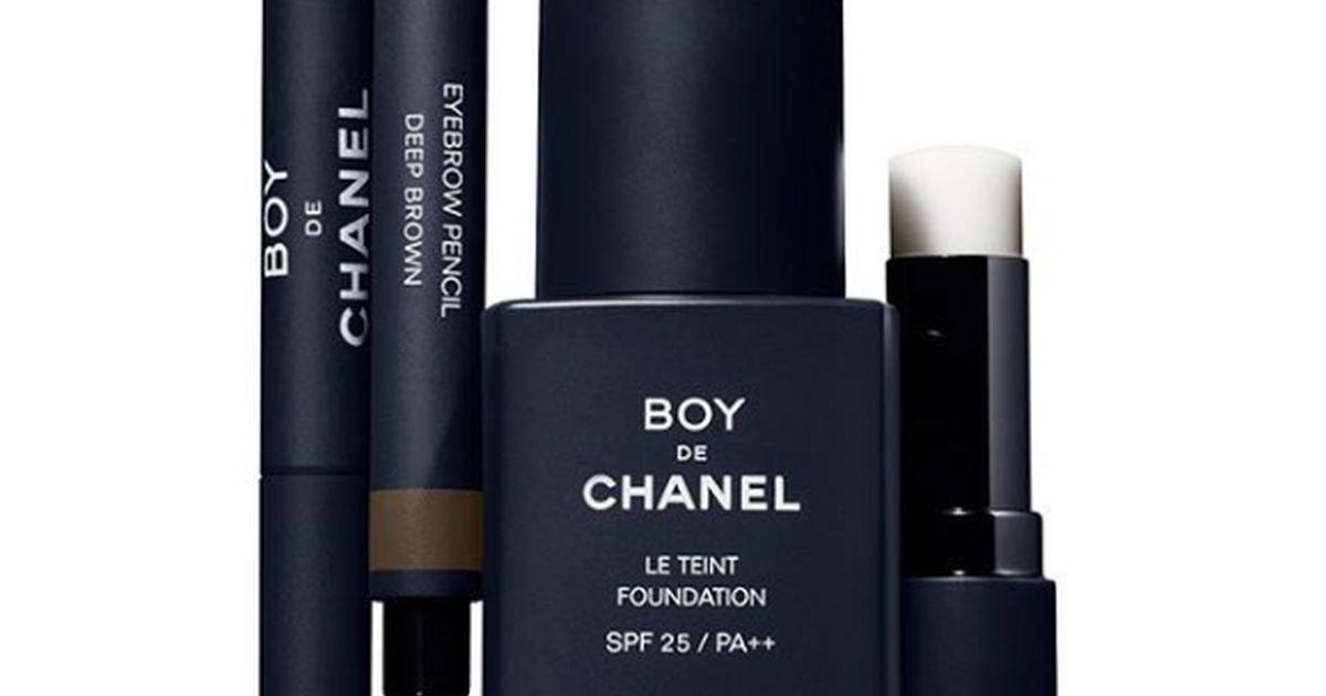 Chanel lancia il make-up per lui