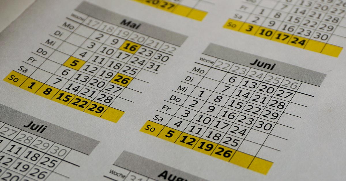 Ansia da rientro: il calendario con le prossime vacanze