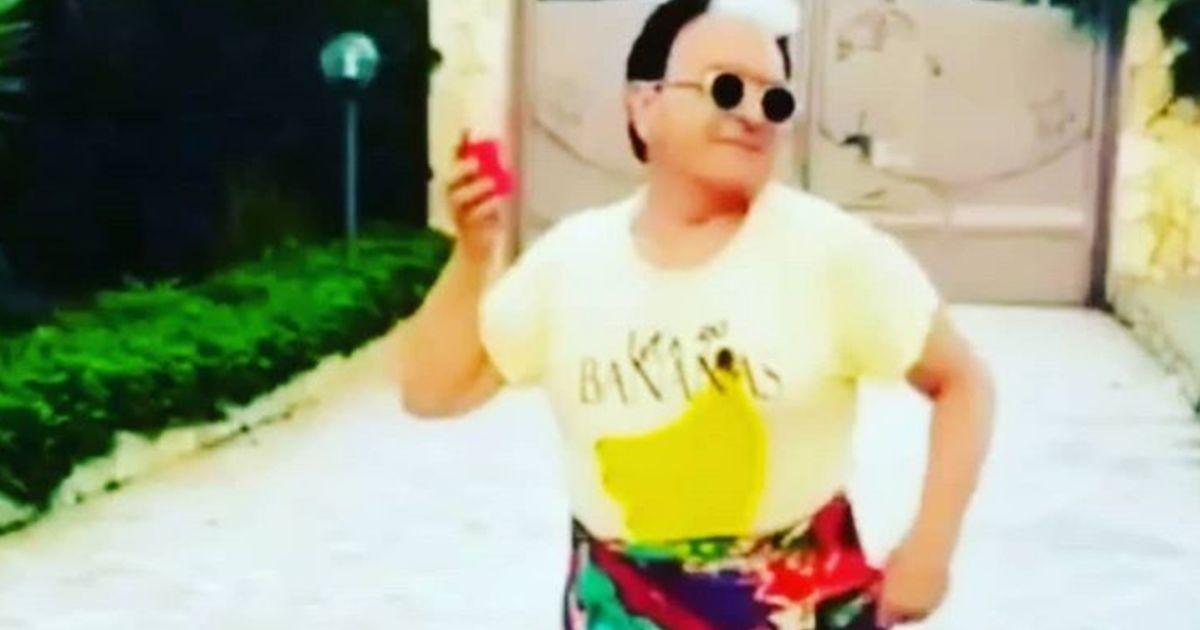 Cristiano Malgioglio sui tacchi a spillo fa impazzire Paris Hilton