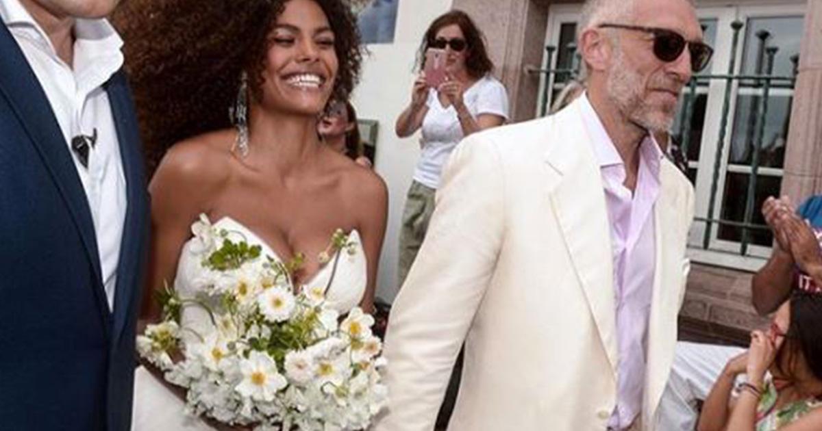 Vincent Cassel e Tina Kunakey: il matrimonio è a sorpresa