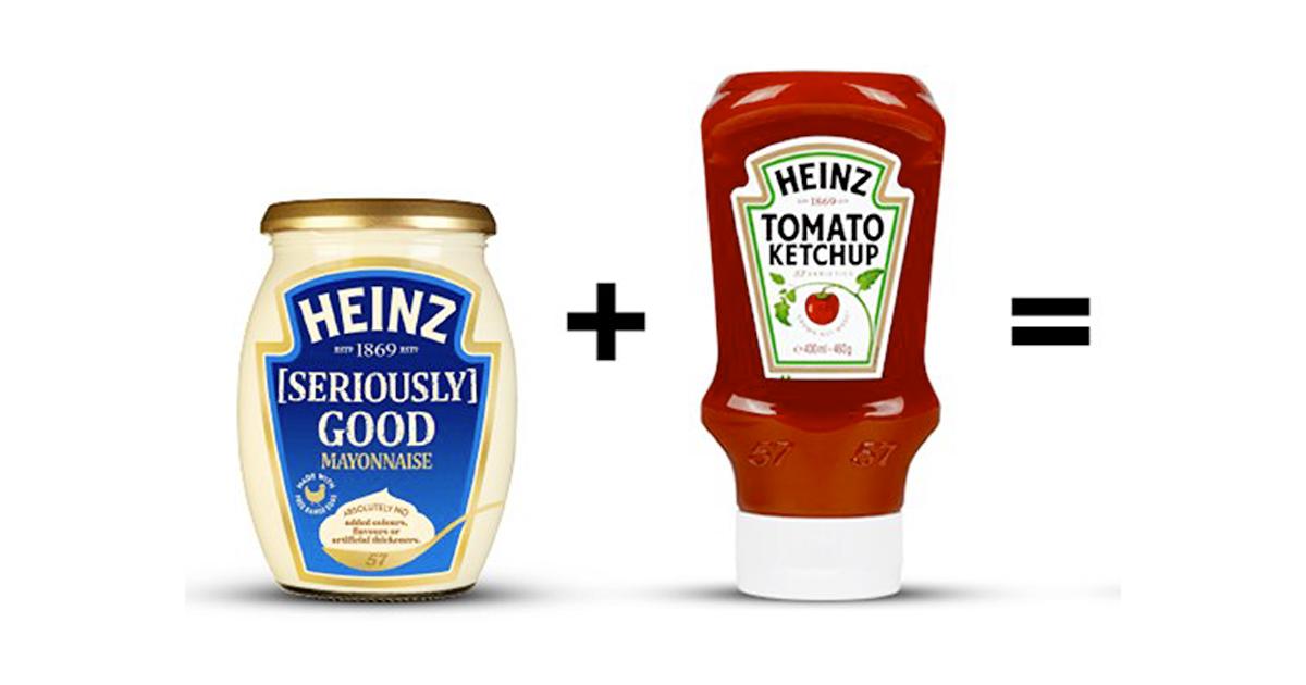Dall'unione di maionese e Ketchup nasce la salsa Mayochup