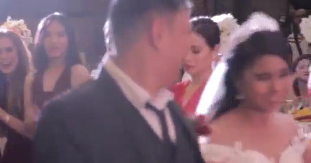 Matrimonio con tifone...