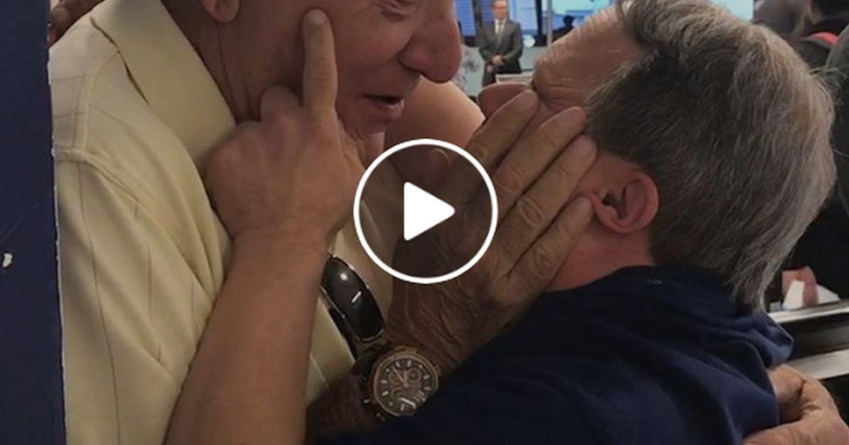 L'incontro tra questo padre e suo figlio è un video da vedere e rivedere