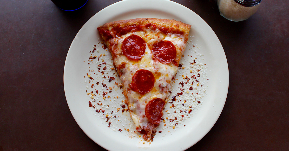 La pizzeria che vende solo i bordi della pizza