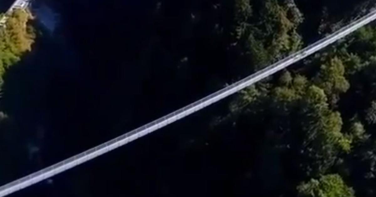 Il ponte tibetano più alto d'Europa? Si trova in Italia