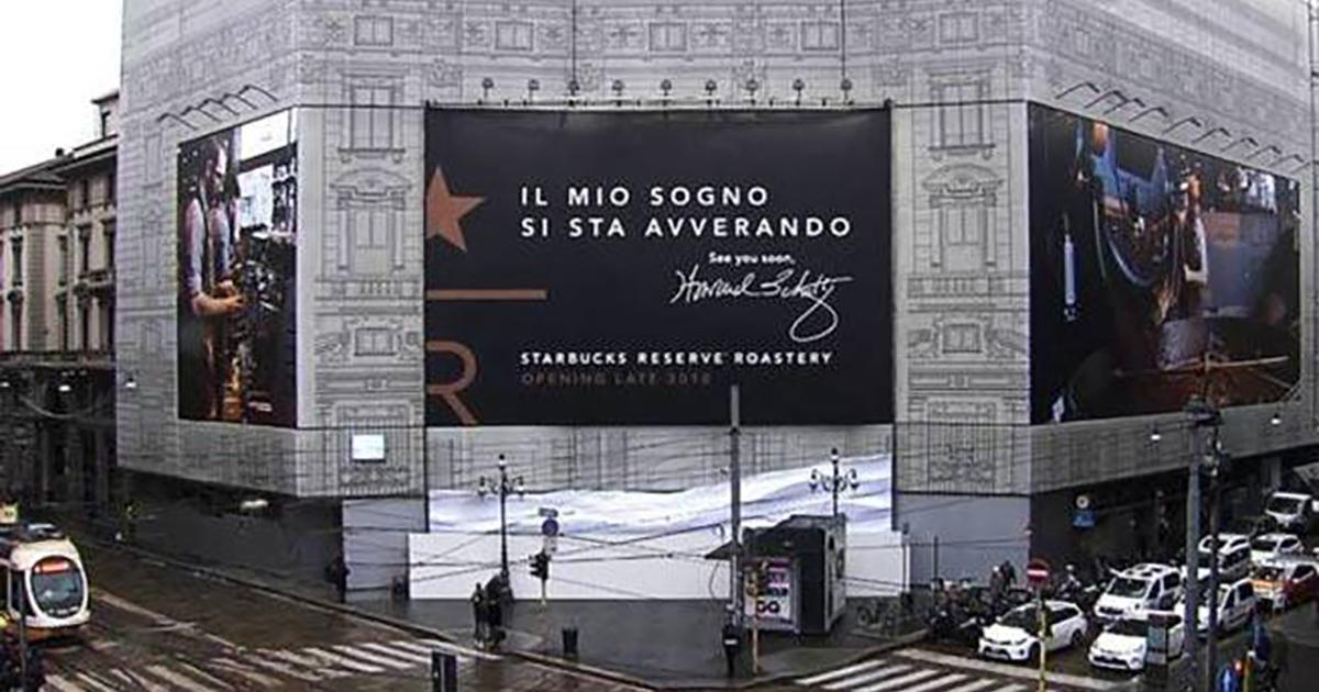Apre Starbucks a Milano