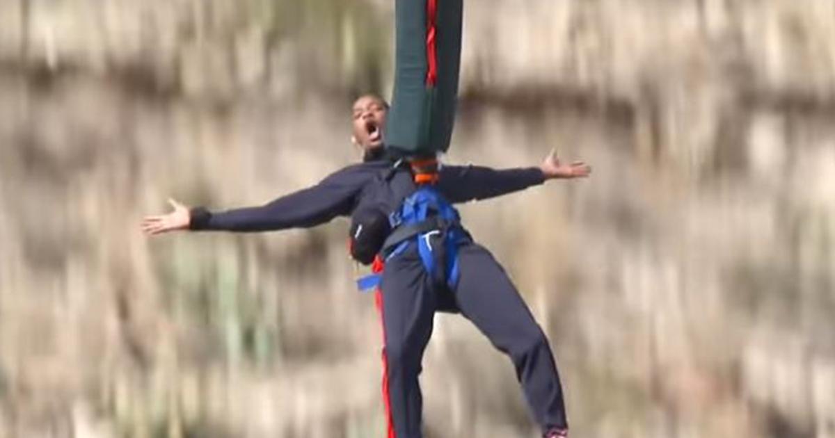 Will Smith festeggia i 50 anni con un salto nel Grand Canyon