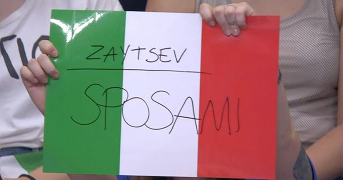 'Zaytsev, sposami': la risposta del capitano della nazionale italiana di volley è perfetta