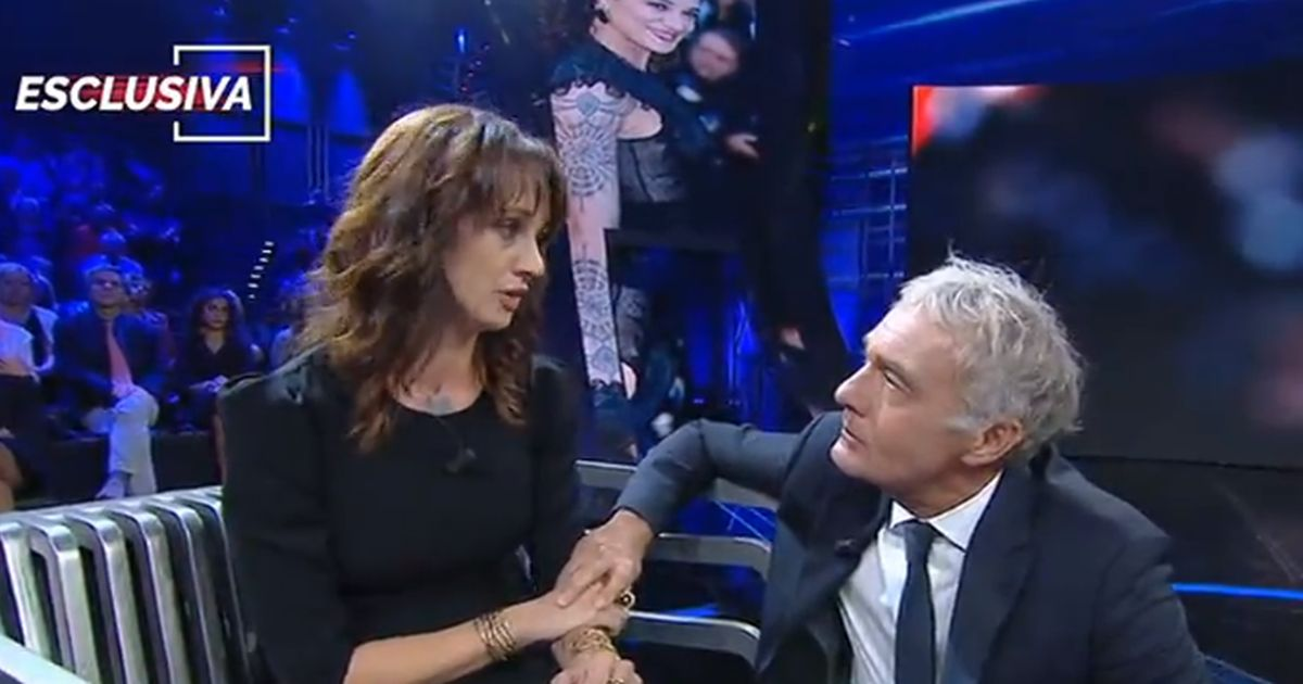 Asia Argento in lacrime da Giletti: 'Vorrei tornare ad X-Factor'