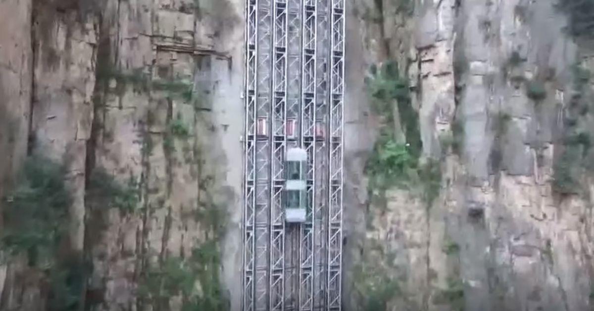 Ecco il Bailong Elevator, l'ascensore all'aperto più alto e voloce al mondo