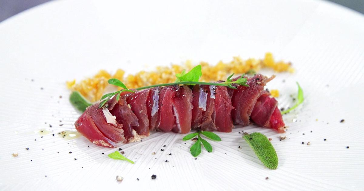 Rolls di anatra e foie gras - Alessandro Borghese Kitchen Sound Rolls