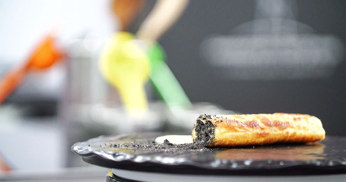 Rolls di baccalà - Alessandro Borghese Kitchen Sound Rolls