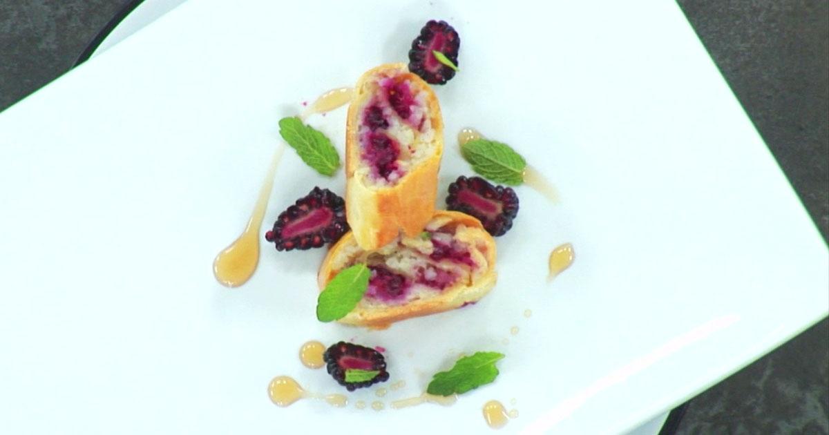 Brisé rolls con risolatte alle more - Alessandro Borghese Kitchen Sound Rolls