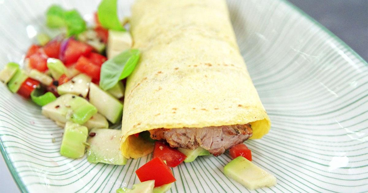 Tacos di vitella rolls - Alessandro Borghese Kitchen Sound Rolls