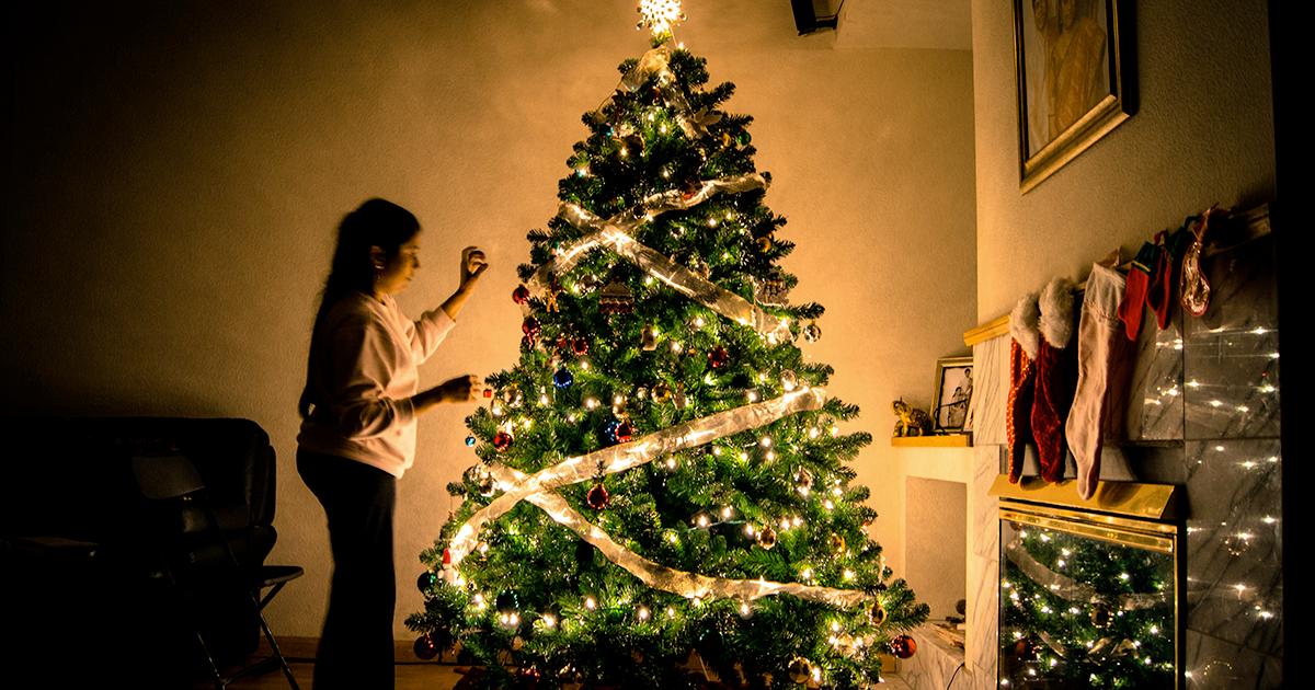 Natale: secondo la scienza, se decori la casa in anticipo sei più felice