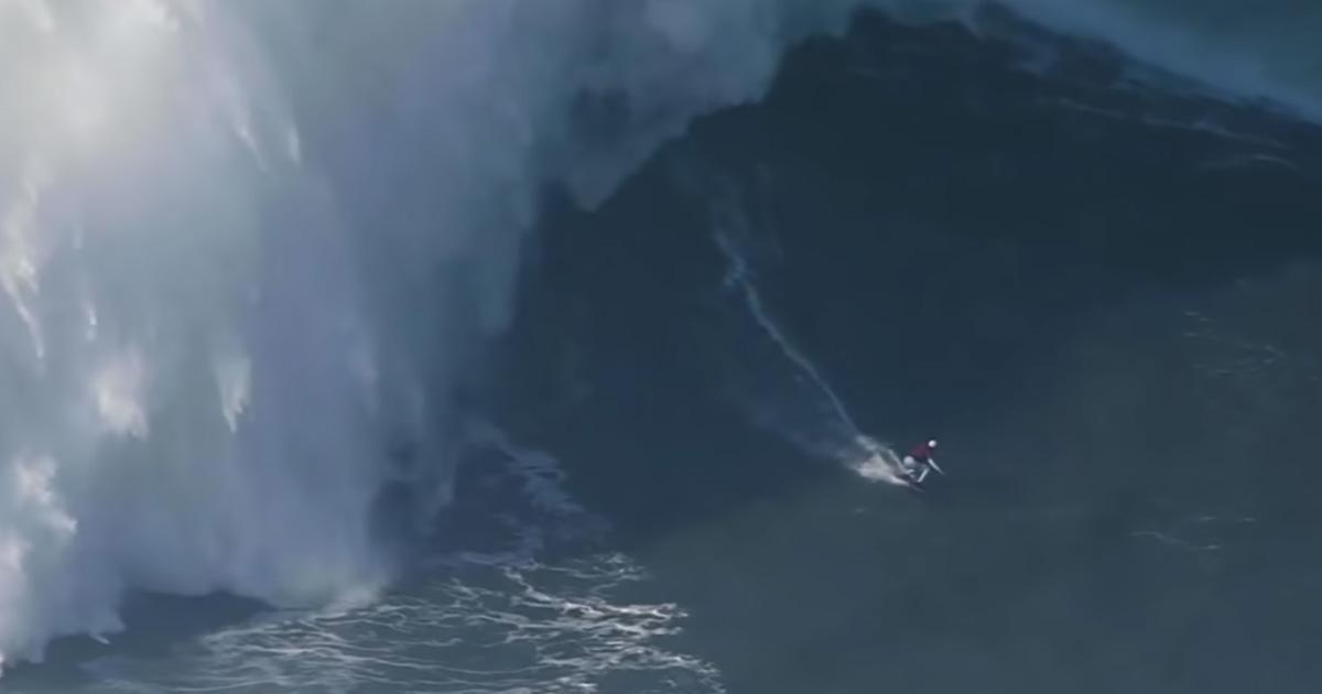 Onda da record per la surfista brasiliana