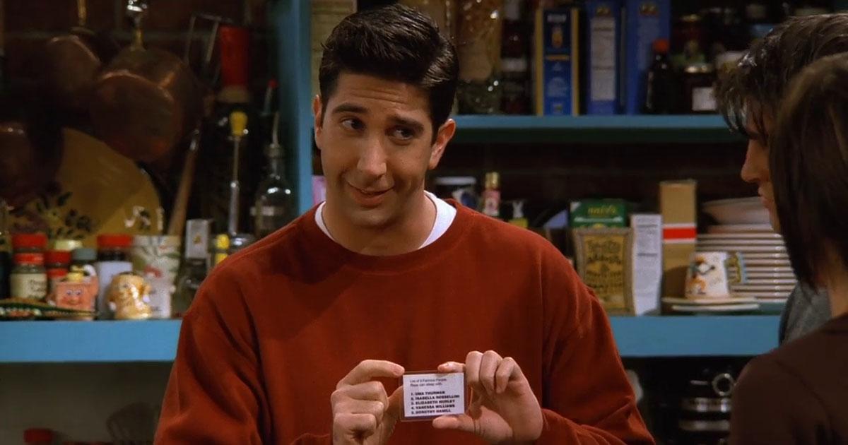 Il ladro nel supermercato è identico a Ross di Friends: e lui risponde così