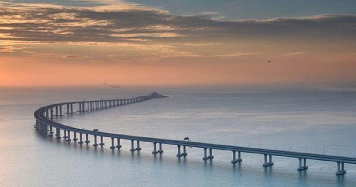 Realizzato il ponte che unisce Hong-Kong alla Cina: è il più lungo del mondo