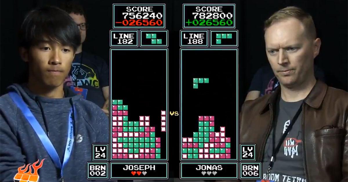 Tetris: il sedicenne batte il campione del mondo e diventa il numero uno