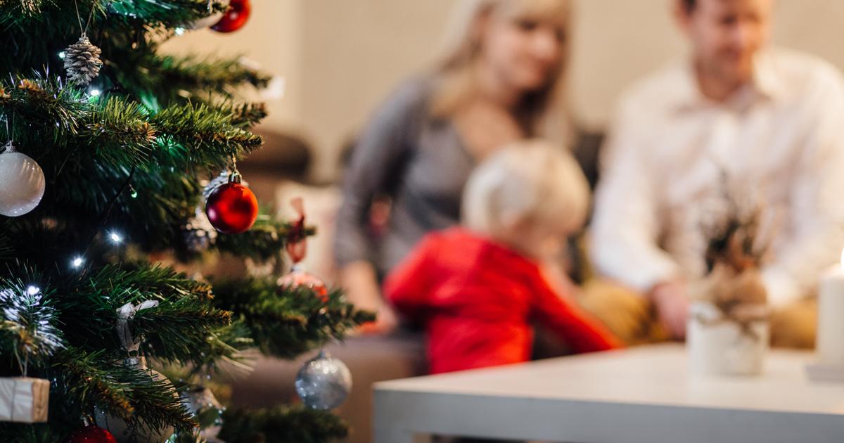 Non puoi permetterti un albero? Ecco le palle di Natale da barba