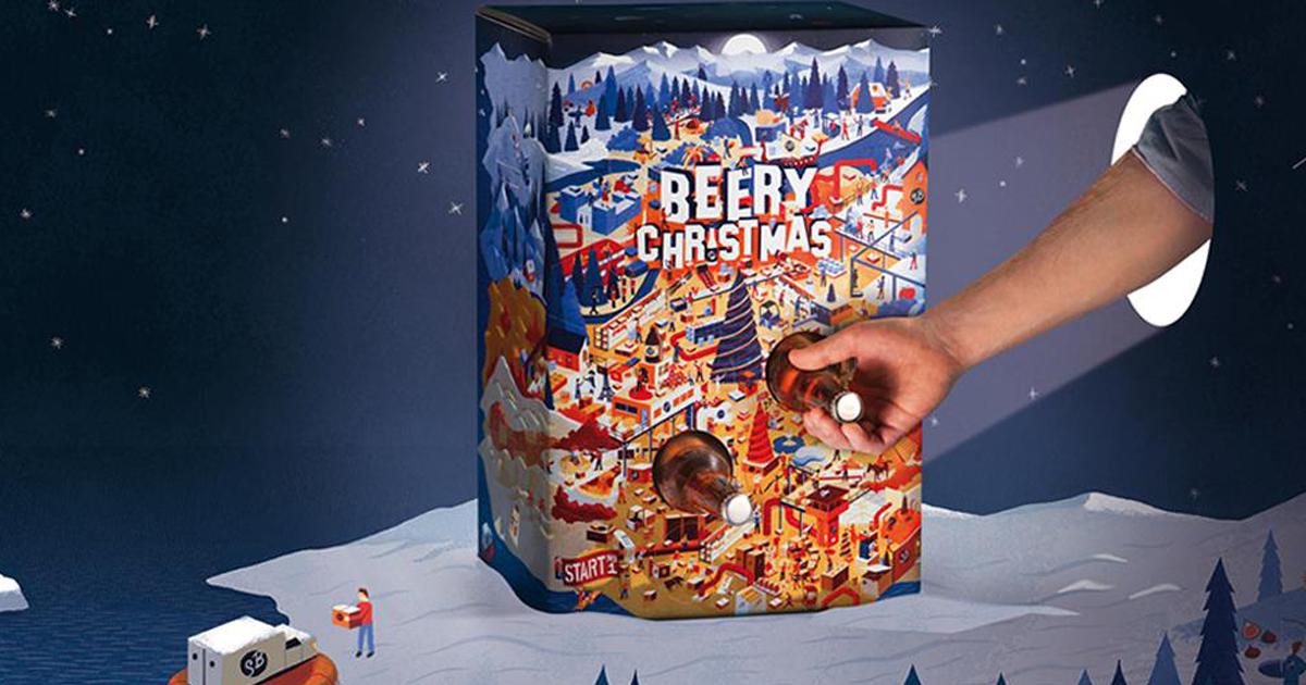 Calendario Avvento Birra.Natale Alcolico Ecco Il Calendario Dell Avvento Con La
