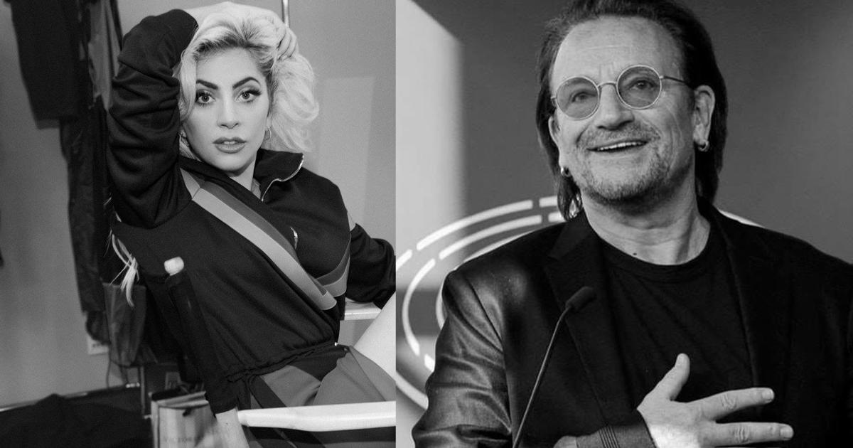 Bono e Lady Gaga scriveranno una canzone insieme per beneficenza