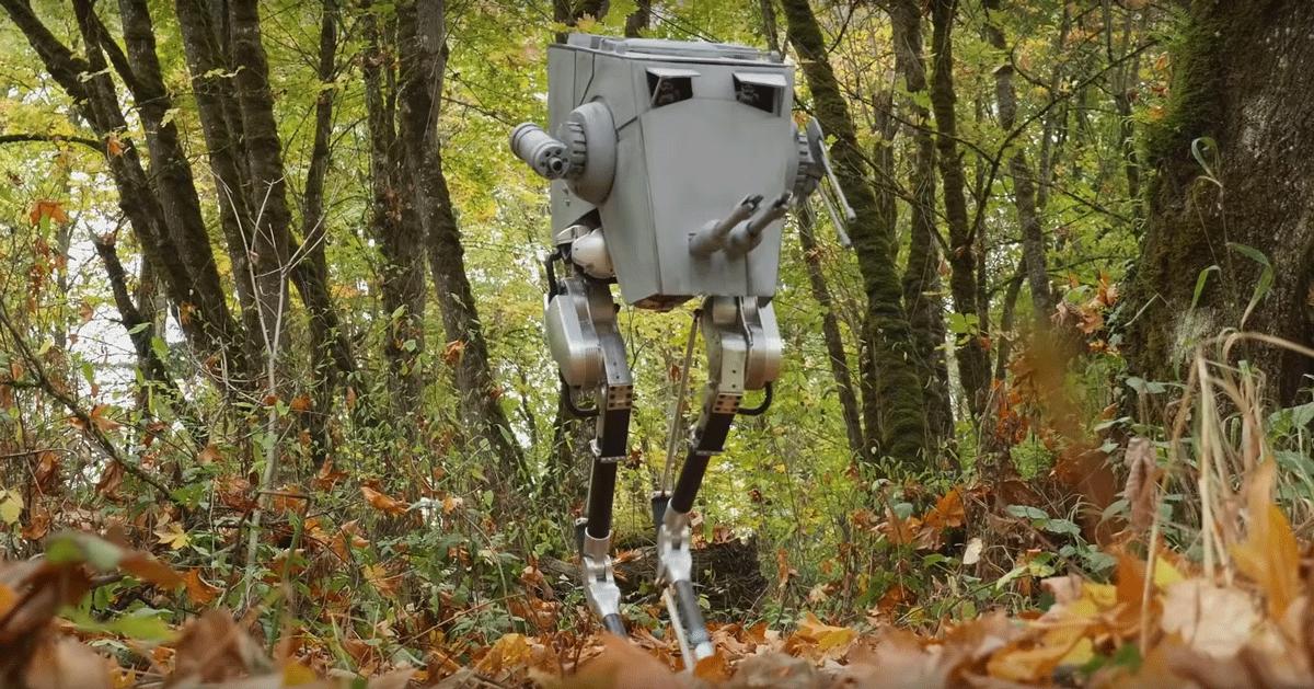 Star Wars: il dipartimento di robotica della Oregon University ha ricreato il mitico AT-ST