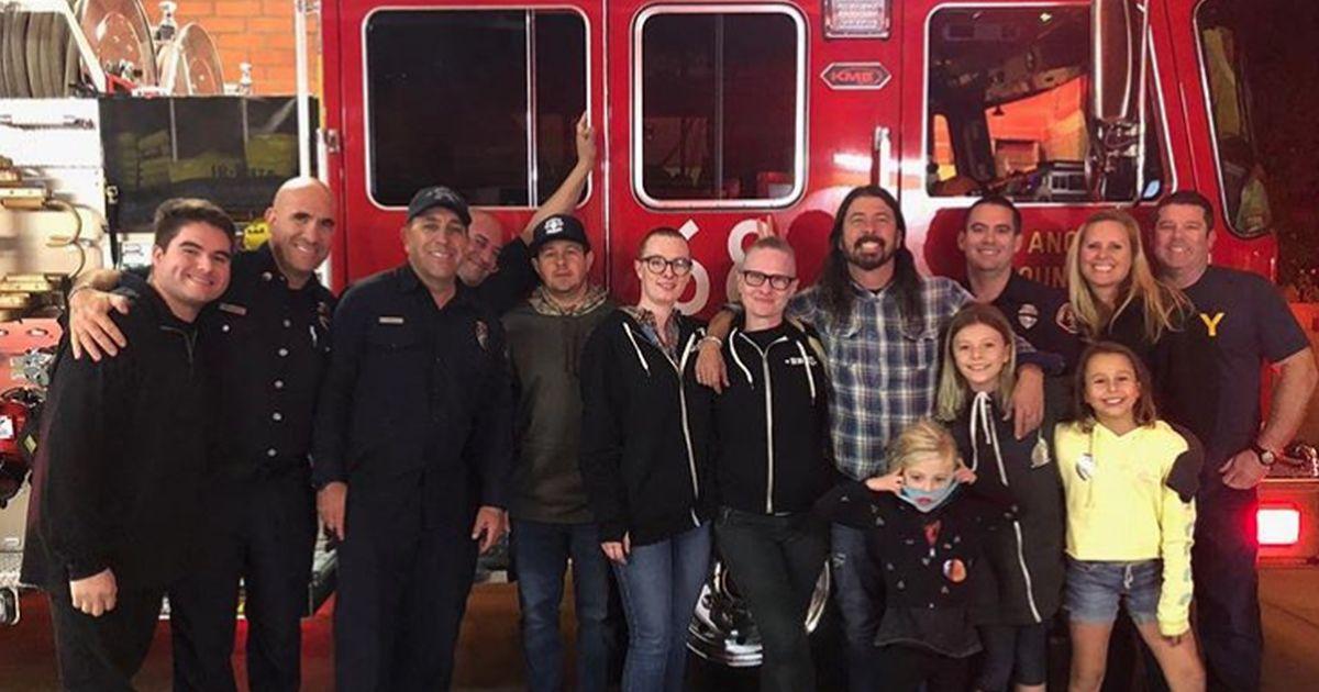 Incendio a Los Angeles: Dave Grohl ha aiutato così i pompieri
