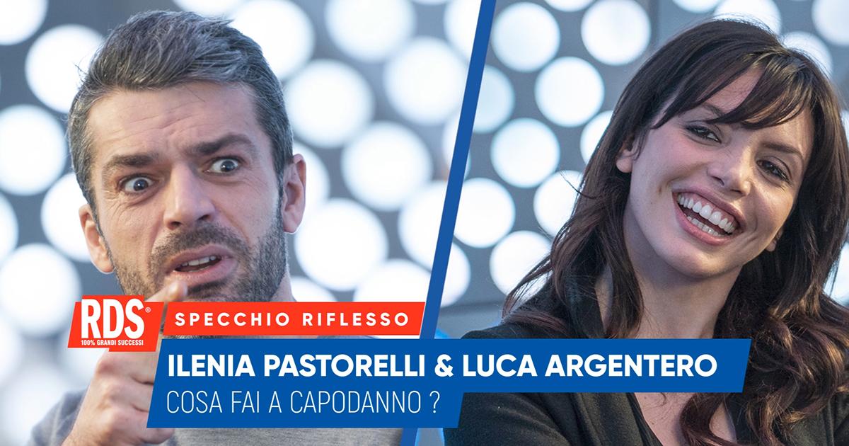 Luca Argentero e Ilenia Pastorelli a confronto nello Specchio Riflesso di RDS