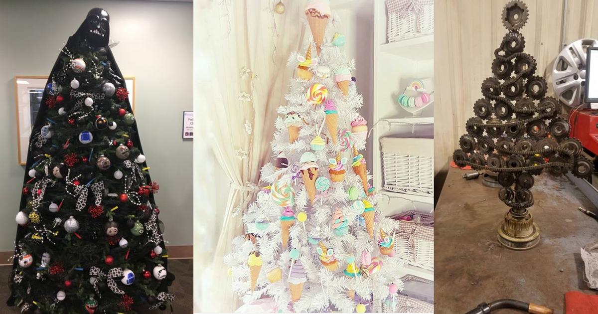 Natale creativo: gli alberi e le decorazioni più strane di sempre
