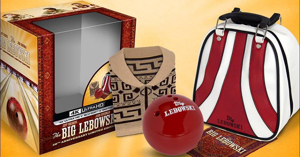 Il kit del 20° anniversario de Il Grande Lebowski è semplicemente fantastico