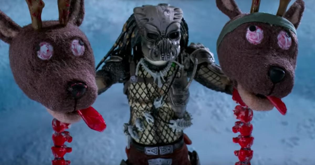 Predator Vs. Babbo Natale: un video che vi farà morire (dalle risate)