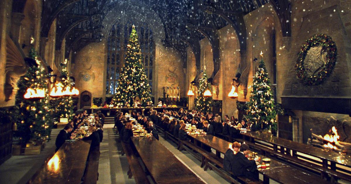 Nella Sala Grande di Hogwarts si farà un vero cenone di Natale e di San Valentino