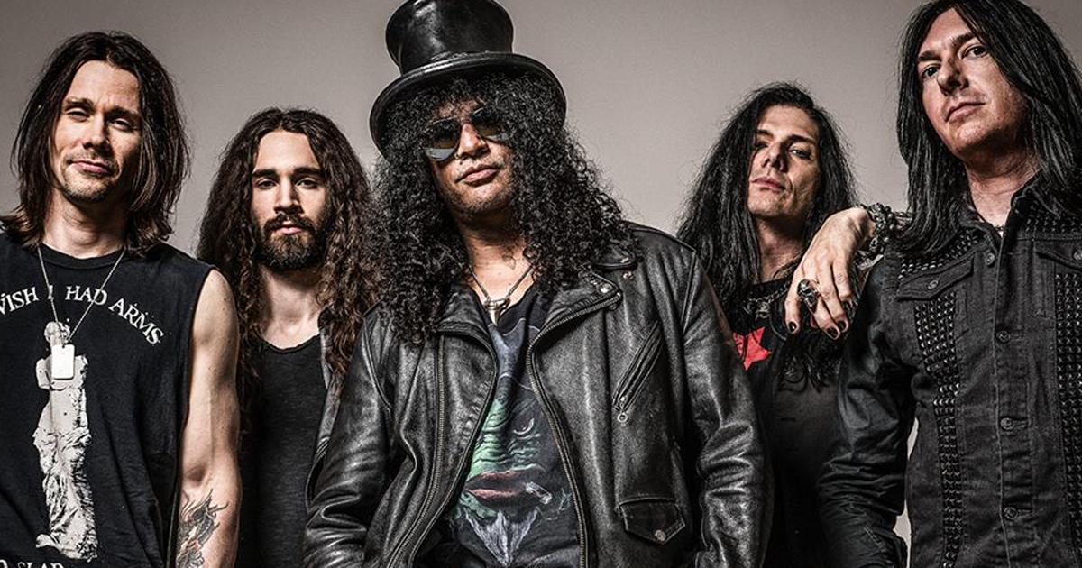 Slash dei Guns N' Roses farà due concerti in Italia