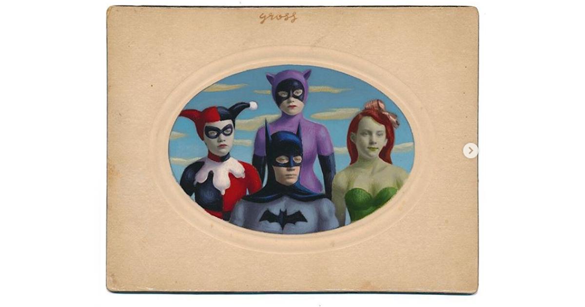 Quando una foto antica diventa il ritratto di un supereroe