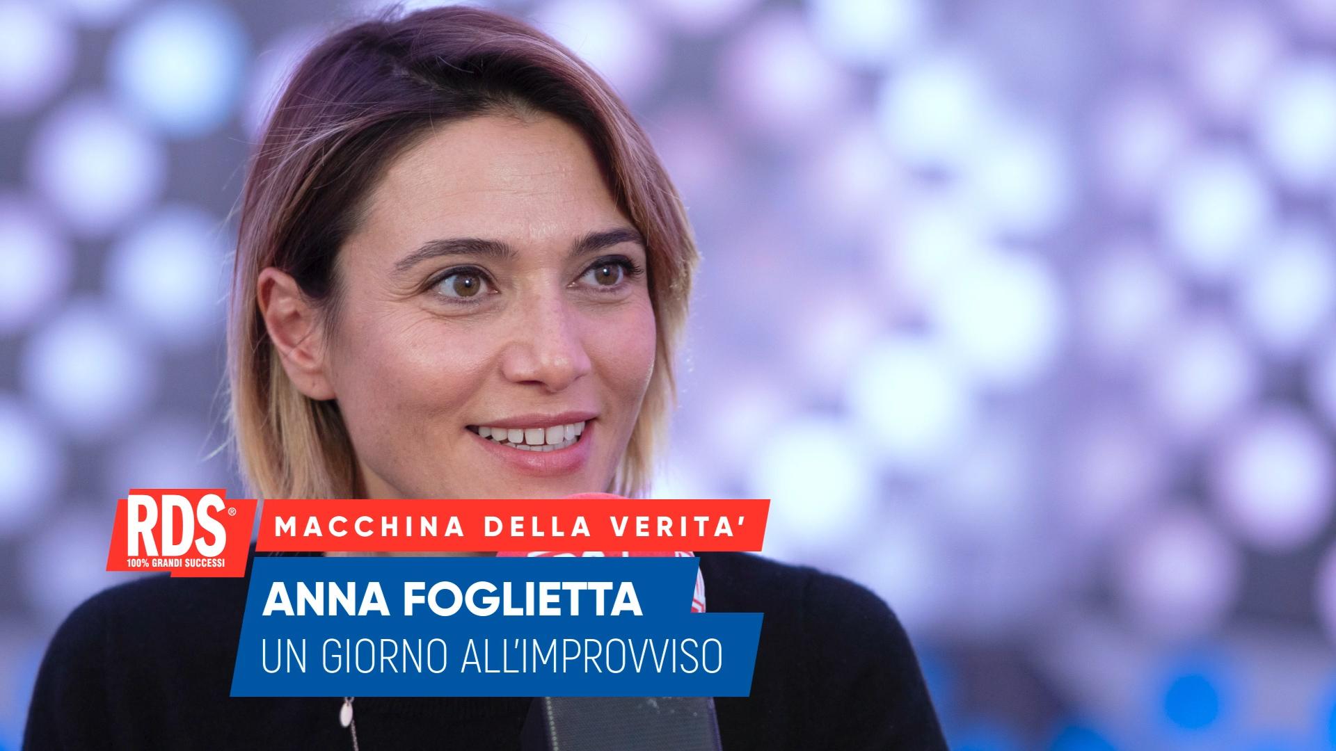 Anna Foglietta risponde alle domande della Macchina Della Verità RDS