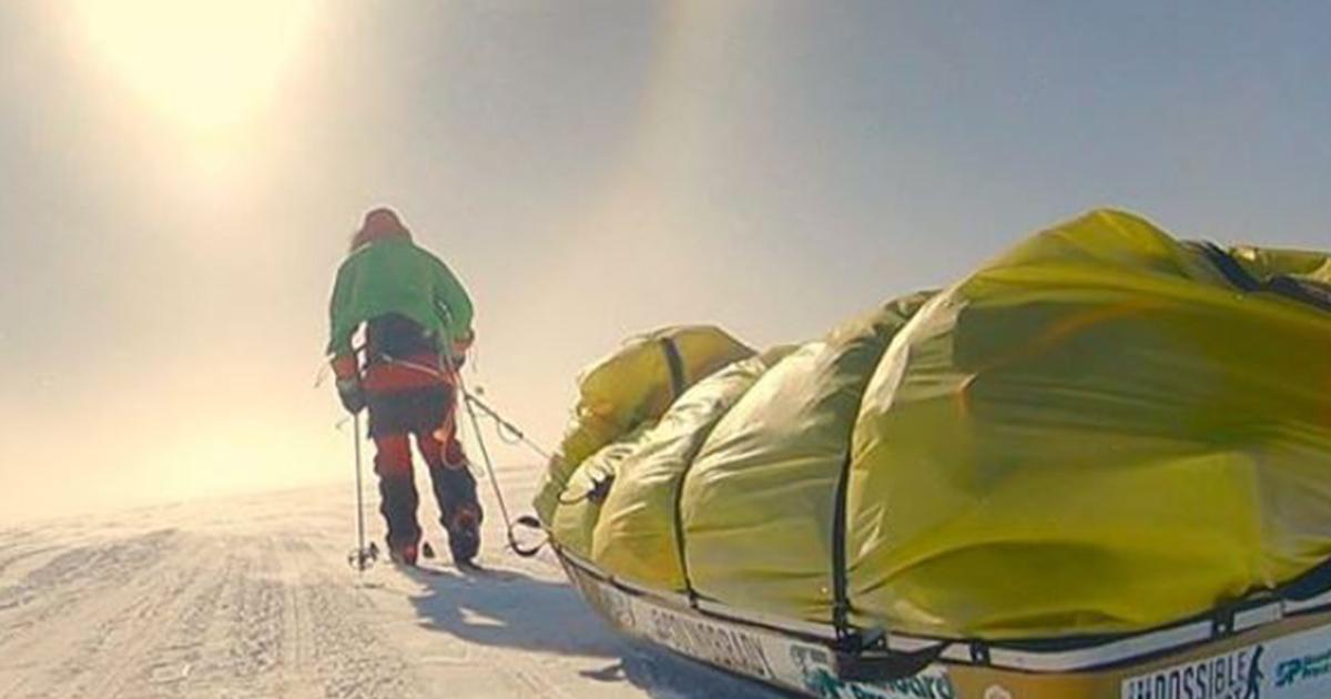 Attraversa l'Antartide da solo, l'impresa è storica
