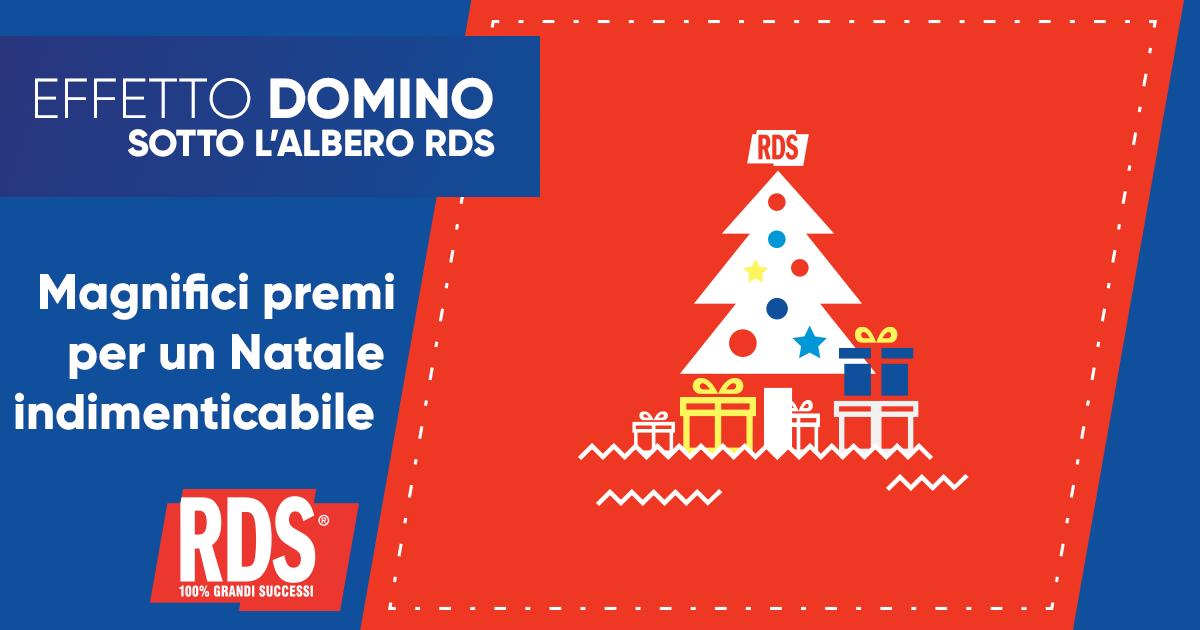 Effetto Domino: Sotto l'Albero di RDS