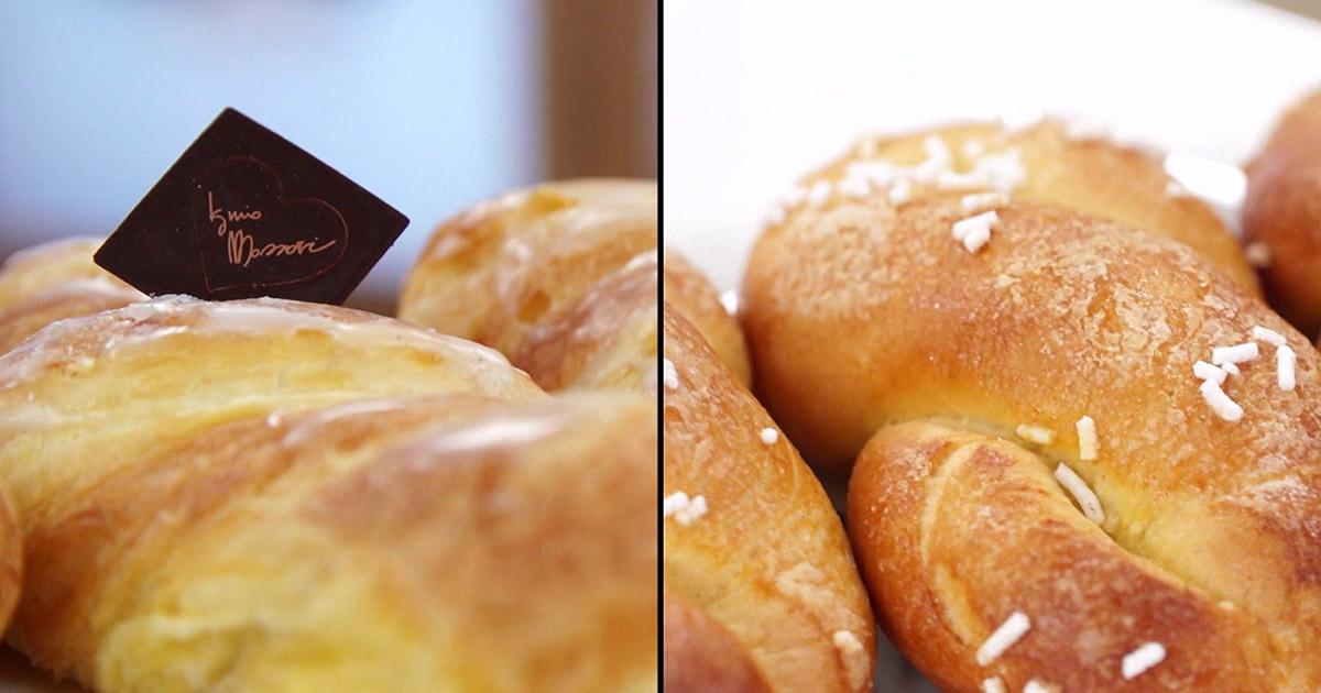 Treccine con crema pasticcera senza lattosio - Iginio Massari The Sweetman