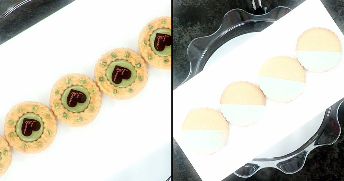 Biscotti di frolla tipo Milano - Iginio Massari The Sweetman
