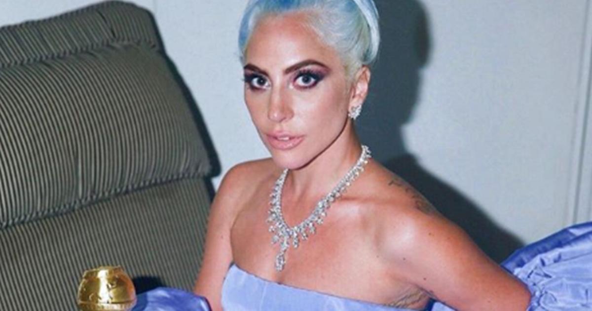 Lady Gaga: ecco quanto vale la collana indossata ai Golden Globe