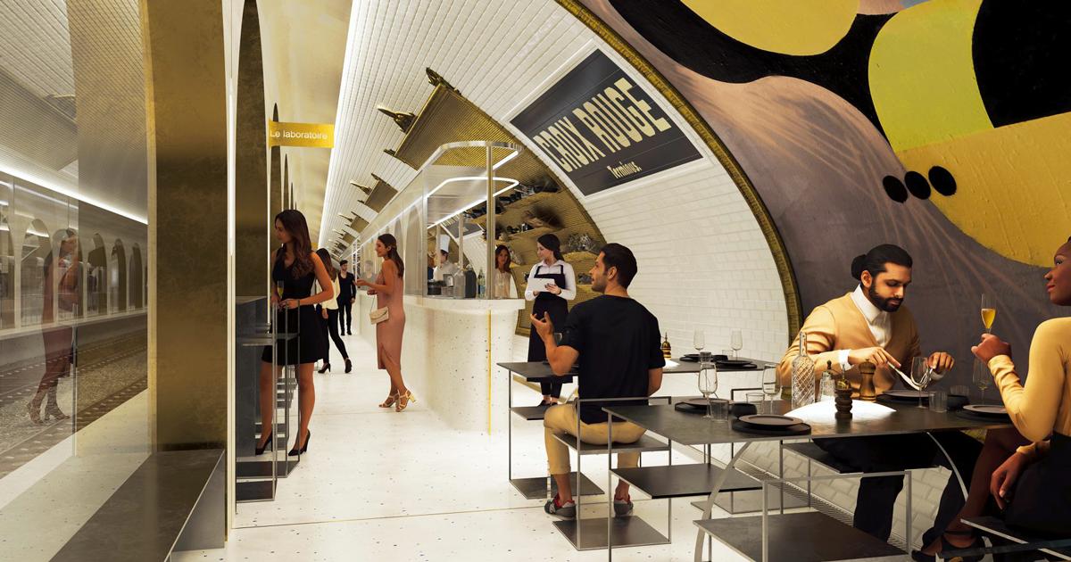 A Parigi una stazione abbandonata della metro diventerà un ristorante