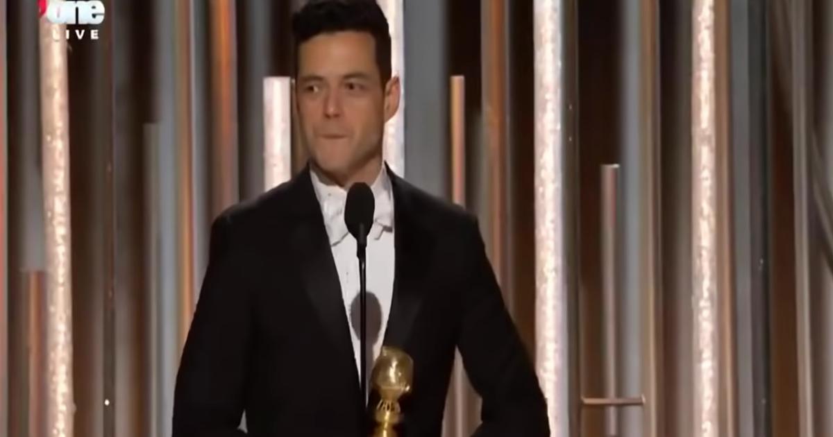 Rami Malek ai Golden Globe: «Grazie a Freddie Mercury,è stata la gioia più grande della mia vita»