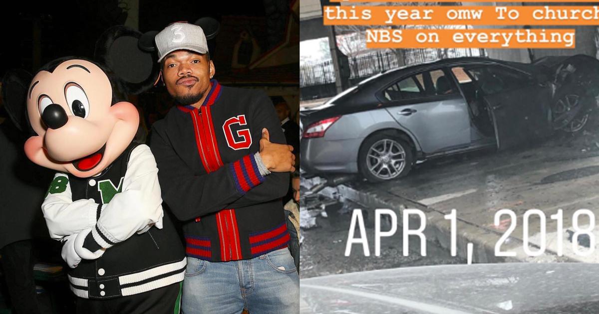 Salva un uomo dalla macchina in fiamme: grande prova di coraggio per questo rapper americano