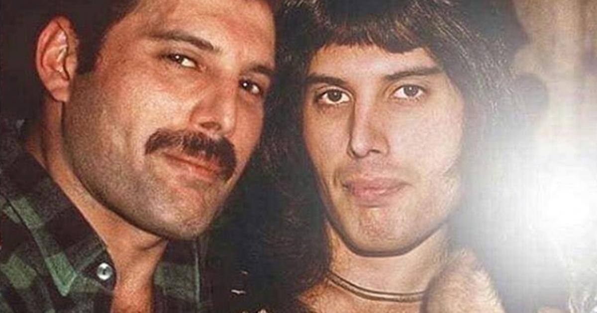 Un mago di Photoshop ha fatto incontrare le rockstar con le loro versioni da giovani