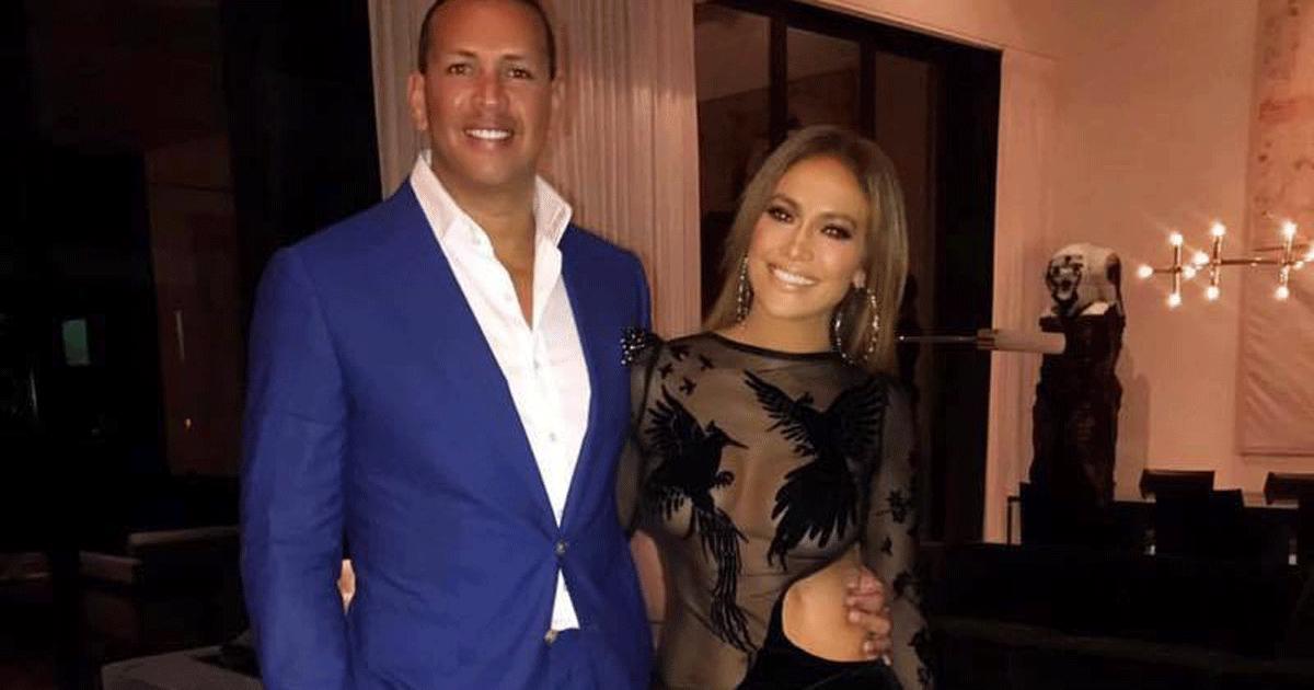 Jennifer Lopez scrive una dedica bellissima ad Alex Rodriguez per i due anni insieme