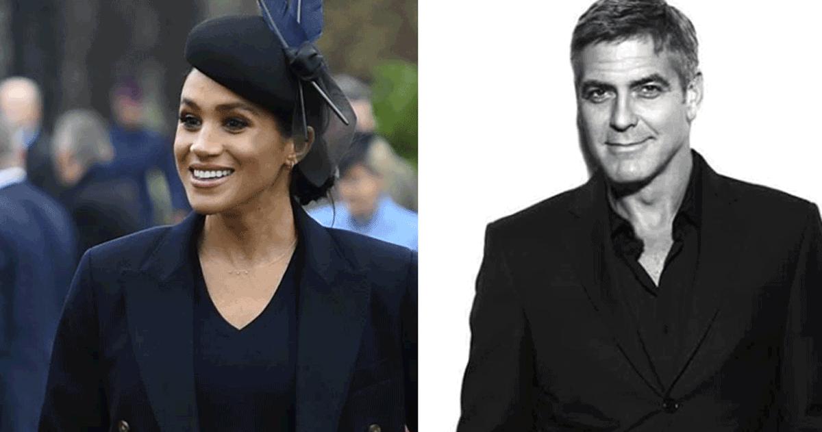 George Clooney difende Meghan Markle: «Viene perseguitata come facevano con Lady D»