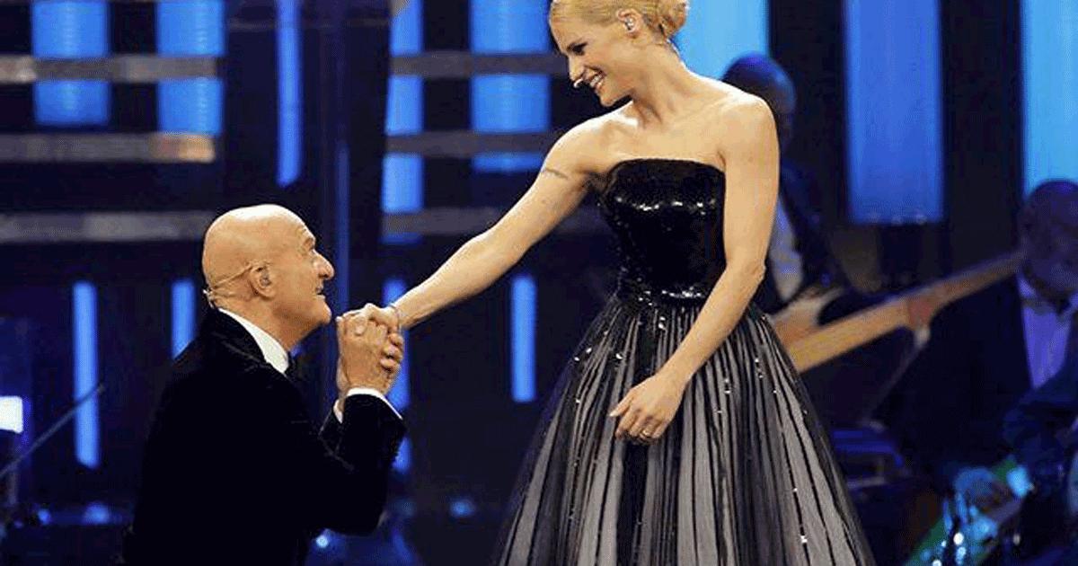Sanremo 2019: il toccante ringraziamento di Michelle Hunziker a Claudio Bisio