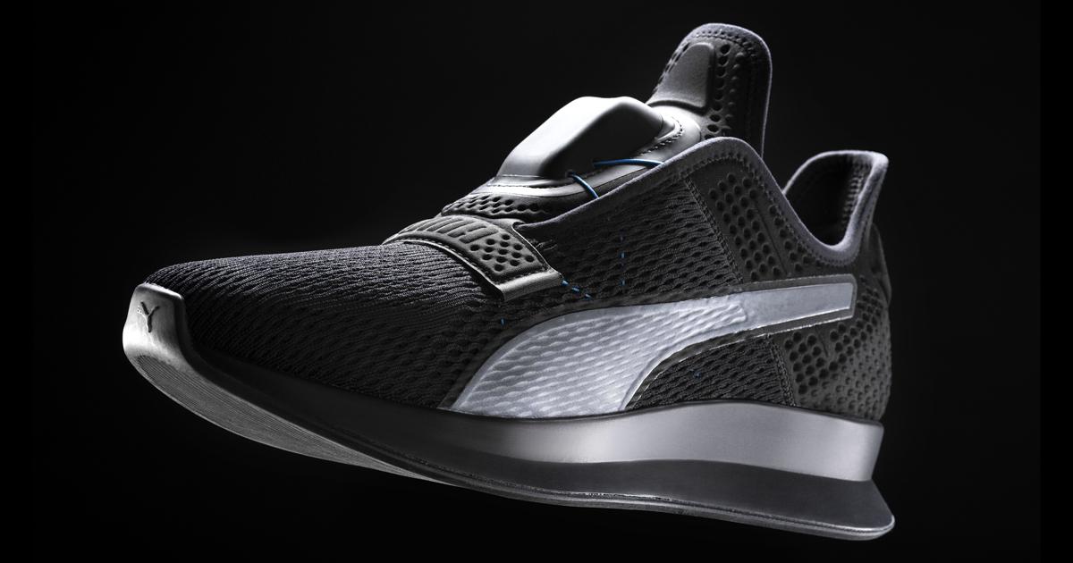 Anche Puma produrrà delle scarpe che si allacciano da sole